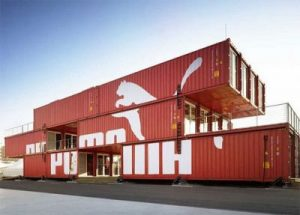Immeuble container Puma